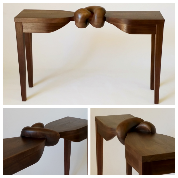 Table or Sculpture?  Out-of-Whack or New-Normal?