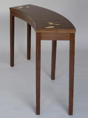Curved Entry Table