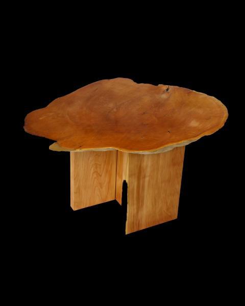 Cedar Burl Side Table
