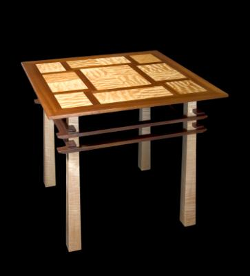 Asian Style II - Square Pagoda Tables