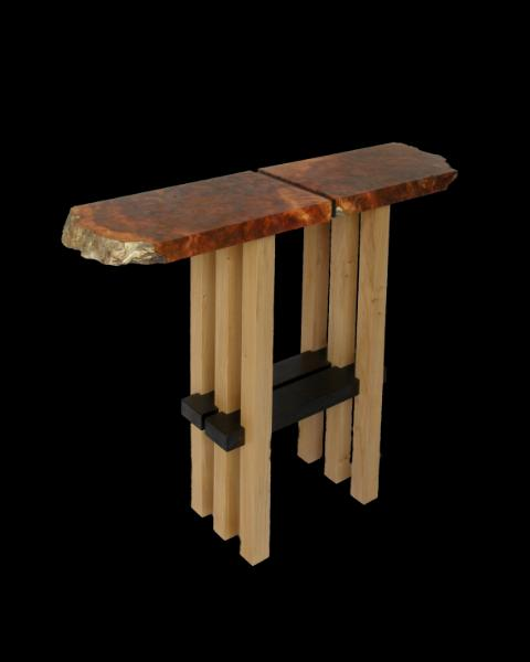 Camano Cedar Natural Edge Table